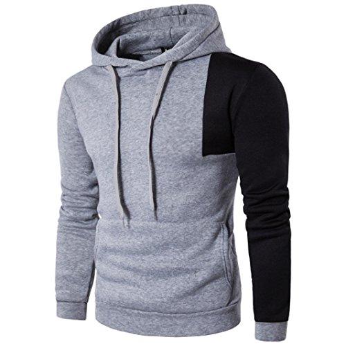 huge discount 162be 8eca0 ITISME Herren Pullover MäNner Baumwolle Langarm-Kapuzen-Freizeithemd T- Shirts Hoodie TopsXxxxl Young