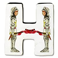 Knights & Dragons Wooden Letter - H