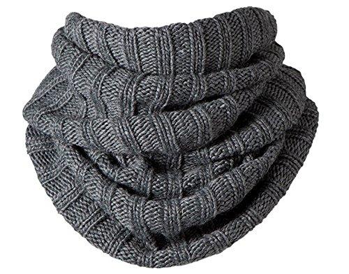 Barts Agata Col - Sciarpa da Donna, colore grigio, taglia Unica