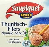 Produkt-Bild: Saupiquet Thunfisch - filet Naturale ohne Öl, 185 g