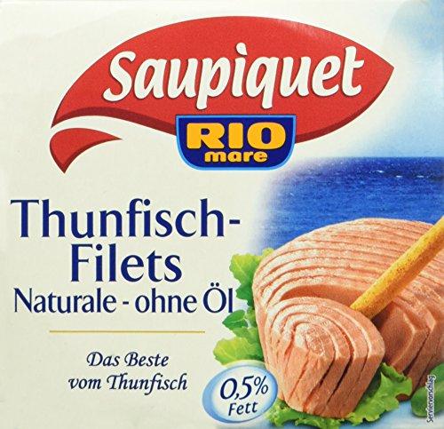 Saupiquet Thunfisch - filet Naturale ohne Öl, 185 g