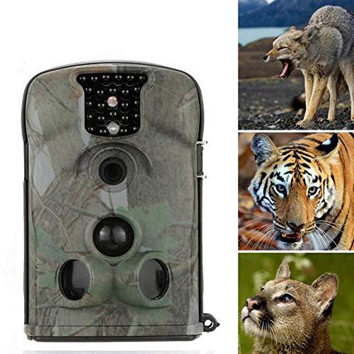 KTYXDE Jagdkamera 12 Millionen Pixel 940nm 12MP Digital Mobile Reconnaissance Jagdkamera Infrarot Nachtsicht LED Outdoor Natur und Home Security Wildkamera