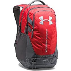 Under Armour UA Hustle 3.0 Mochila Unisex Adulto Color Rojo Talla Única