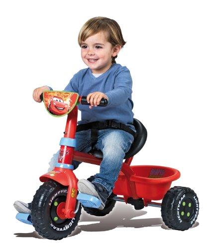 Imagen 3 de Smoby - Triciclo con mango con diseño de Cars 2 (444156)