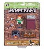 Minecraft 16471 - Figurine Articulée avec Accessoires - Kit Survie Alex