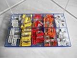TM: 150 Wagoklemmen Set in 10-Fach Box 0,5-2,5, 2273-202 -203 -204 -205 -208 Wago Klemmen