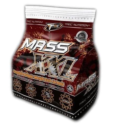 Mass XXL x 3kg (Vanilla) BEST WEIGHT GAINER SUPPLEMENT *Weight Gain Whey Protein* by Mammoth