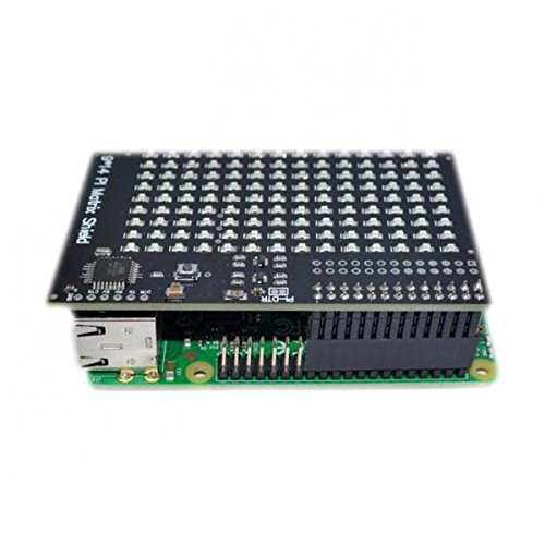 MagiDeal LED Leuchtschild programmierbar Ladenschild geöffnet Schild, 126 LEDs Für Raspberry Pi