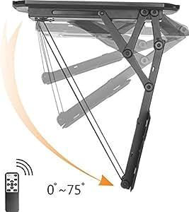 speaka 1439178 professional tv deckenhalterung 58 4cm electronics. Black Bedroom Furniture Sets. Home Design Ideas