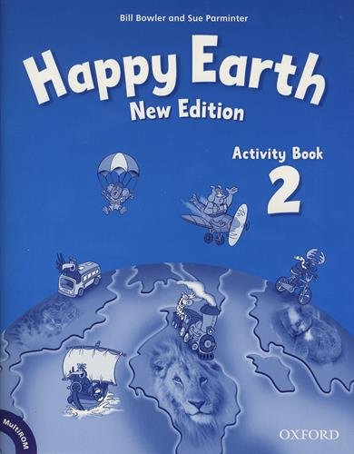 Happy Earth: 2: Activity Book and Multirom Pack par Bill Bowler