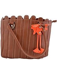 D'craft Lady Brown Ladies Handbag