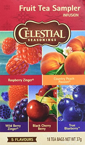 Celestial Seasonings Fruit Tea sampler South, 6er Pack (6 x 37 g)