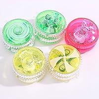 Preisvergleich für Baby-lustiges Spielzeug Kinder Multicolor Yo-Yo Ball Spielzeug Leuchten Kunststoff Kabel Yo-Yo Ball
