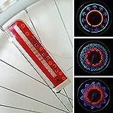 #6: Bicycle Bike Car Wheels Tire Spoke LED Lights Lamp Night Cycling Colorful