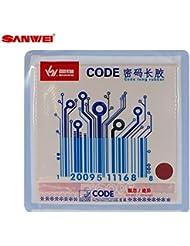 sanwei Código Moderno langnopp combinado, rojo, 0, 5 mm
