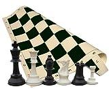 Tournament Chess Set - Chess Pieces - Bl...