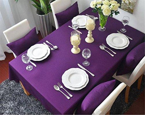 umwolle lila tischdecke Europäischen mehrzweck staubdicht tischdecke universal 90 * 90 cm (Lila Polka Dot Tischdecke)