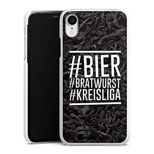 DeinDesign Hülle kompatibel mit Apple iPhone Xr Handyhülle Case Bier Beer Bratwurst