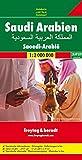 Saudi Arabien, Autokarte 1:2 Mio.: Wegenkaart 1:2 000 000 (freytag & berndt Auto + Freizeitkarten) -