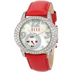 ELLETIME Women's EL20048S01N Red Leather Watch