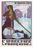 World of Art Vintage-Poster, Motiv