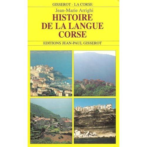 Histoire de la langue corse