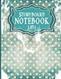 Storyboard Notebook 1.85:1: Storyboarding Notebook : 4 Panel/Frame with Narration Lines, To Assist the Creative Process - Vintage Cover