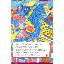 Historia de la literatura hispanoamericana I (GRANDES OBRAS CULTUR, Band 17)