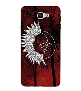 PrintVisa Animated Sunny 3D Hard Polycarbonate Designer Back Case Cover for Samsung Galaxy On Nxt