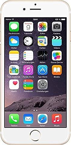 Apple iPhone 6 Smartphone débloqué 4G (Ecran : 4.7 pouces - 128 Go - iOS 8) Or