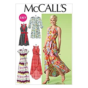 McCall's Patterns Patron de Couture | m7119 | robes, 6 - 14