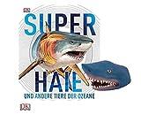 DK Verlag Superhaie und Andere Tiere der Ozeane (Gebundene Ausgabe) + 1. Hai-Handpuppe