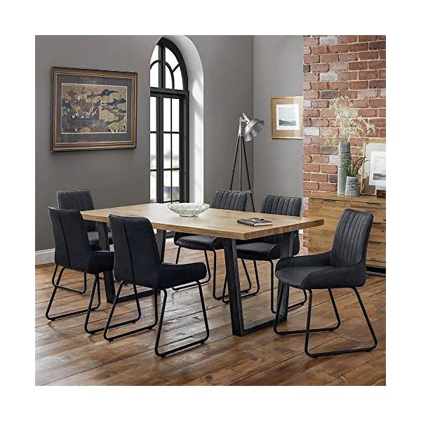 Julian Bowen Brooklyn Dining Set with Soho Chairs Julian Bowen  1