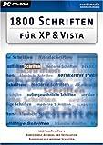 1.800 TrueType Schriften