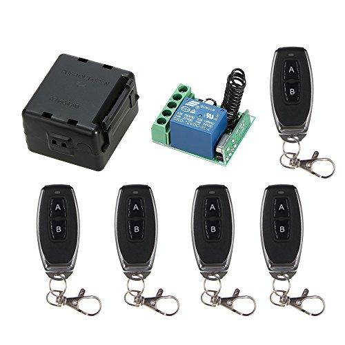 OWSOO Receptor Relé Interruptor Control Remoto Inalámbrico