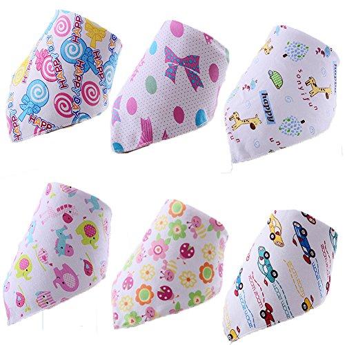 6Pack Ultra Weiche Baumwolle Baby Taschentuch Neugeborene Infant Gaze Bad Dusche Tücher Handtücher Lätzchen, 100% Baumwolle