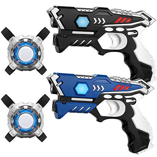 KidsFun Lasertag Set: 2 Laser Pistolen +