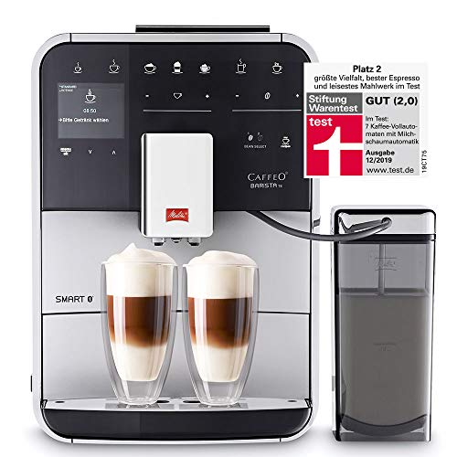 Melitta F85/0-101 Barista TS Smart Coffee Machine, 1450 W, 1.8 liters, Silver thumbnail