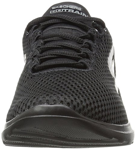 Skechers Go Train-Hype, Scarpe Running Donna Nero (Black)