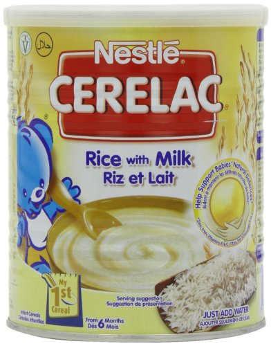 Wichtiges Antioxidans (Nestle Cerelac Stage 1 From 6 Months Rice with Milk 400 g (Pack of 4))