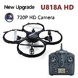 UDI U818A HD 720 P Video Kamera RC Quadcopter Usb-kabel Li-Ion Akku 2,4G 6-aixs Gyro 4Ch Drone mit kamera