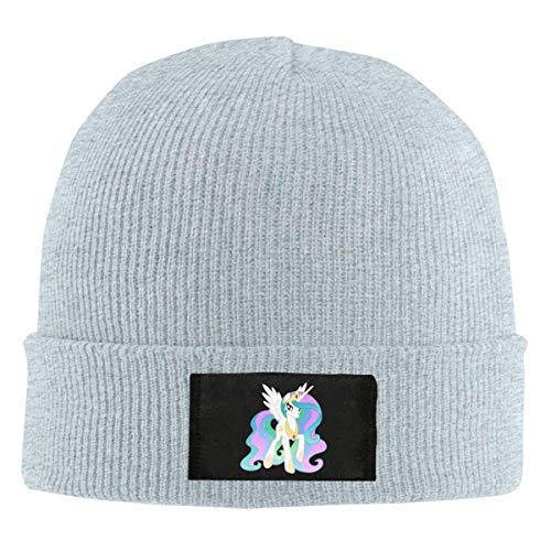 DD Decorative Mens Womens Beanie Cap Watch Hat Winter Warm Knit Skull Hat Cap with My Little Pony Printed Black (Watch Pony My Little)
