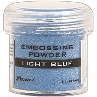Ranger Blue-Embossing Clair Poudre, Acrylique, Multicolore