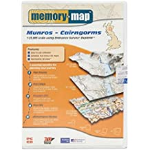 Memory-Map Munros - Cairngorms OS 1:25, 000