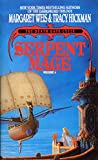 Front cover for the book Serpent Mage by Margaret Weis