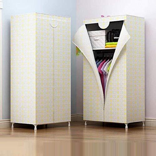 Küche-schrank Storage-systeme (RYP Guo Home Storage Schrank Schrank Kleiderschrank Kleidung Schrank System Vlies Kleiderständer Portable Storage Organizer mit Regalen und Hängenden Rod, A, 27,5 * 59 * 17,7 Zoll,27.5 * 59 * 17.7inc)
