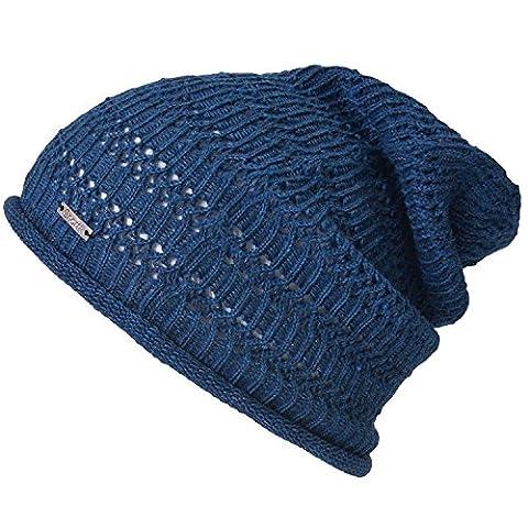 Casualbox Natürlich Hanf Beanie Leinen Stricken Hut Atmungsaktiv Schweiß Absorbierend Hipster Masche Mode Für Männer Und Frauen Blau