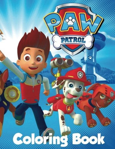Paw Patrol Coloring Book: In the 60 page A4 size Coloring Book for children we have put together a fantastic collection of characters from Paw Patrol including all the badges to color and draw.