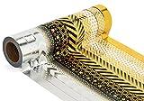 LATH.PIN 12 Rouleaux Washi Tape Masking tape- Ruban Adhésif Papier Décoratif - (Style S12, 15mm x 10M) (Argent-Blanc)