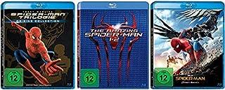 Spider-Man 1-3 + The Amazing Spider-Man Teil 1+2 + Spider-Man Homecoming [Blu-ray Set] Alle 6 Teile Spider Man Komplett Fan Pak